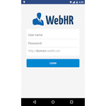 WebHR Mobile Apps Screenshot