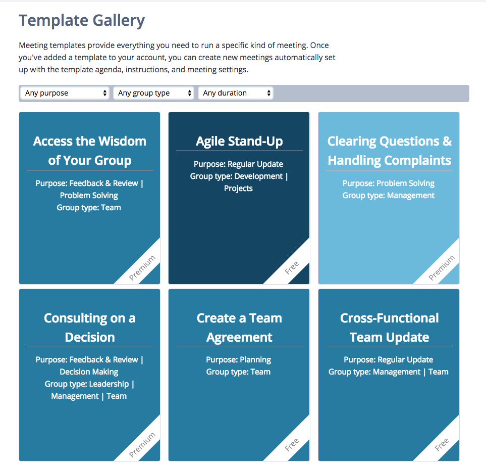 Lucid Meetings Demo - Expert Templates