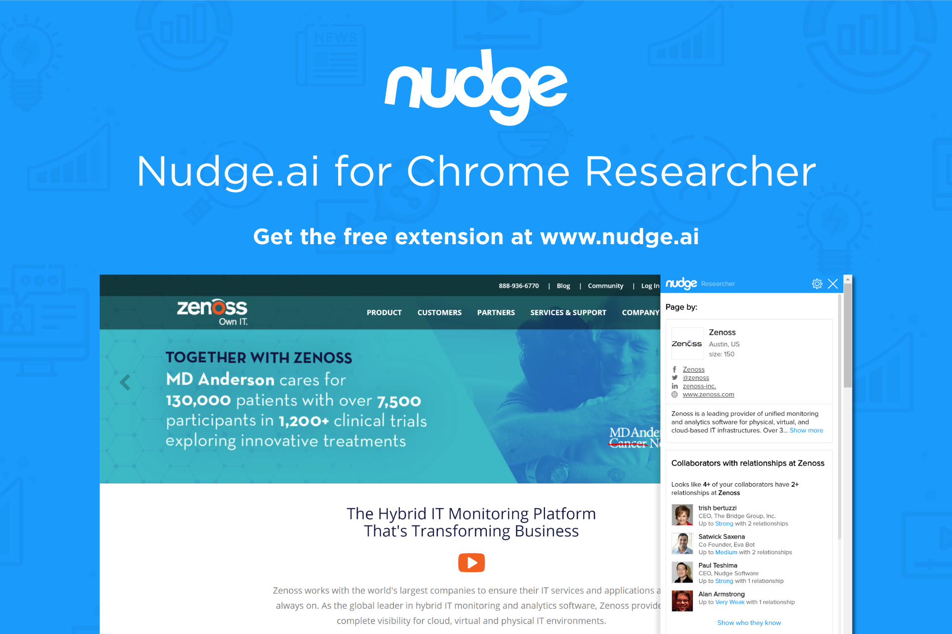 Nudge Demo - Nudge.ai for Chrome Researcher