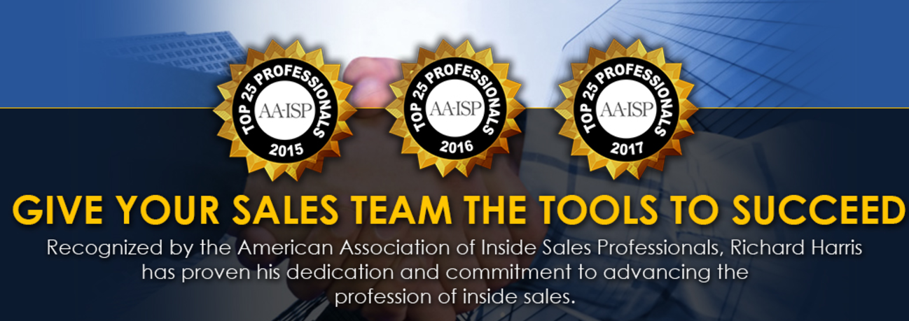 The Harris Consulting Group, LLC. Demo - Top 25 Inside Sales Professional