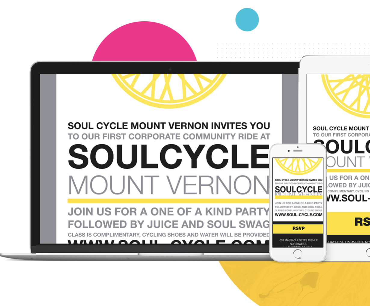 Splash Demo - Fully customized event websites and emails
