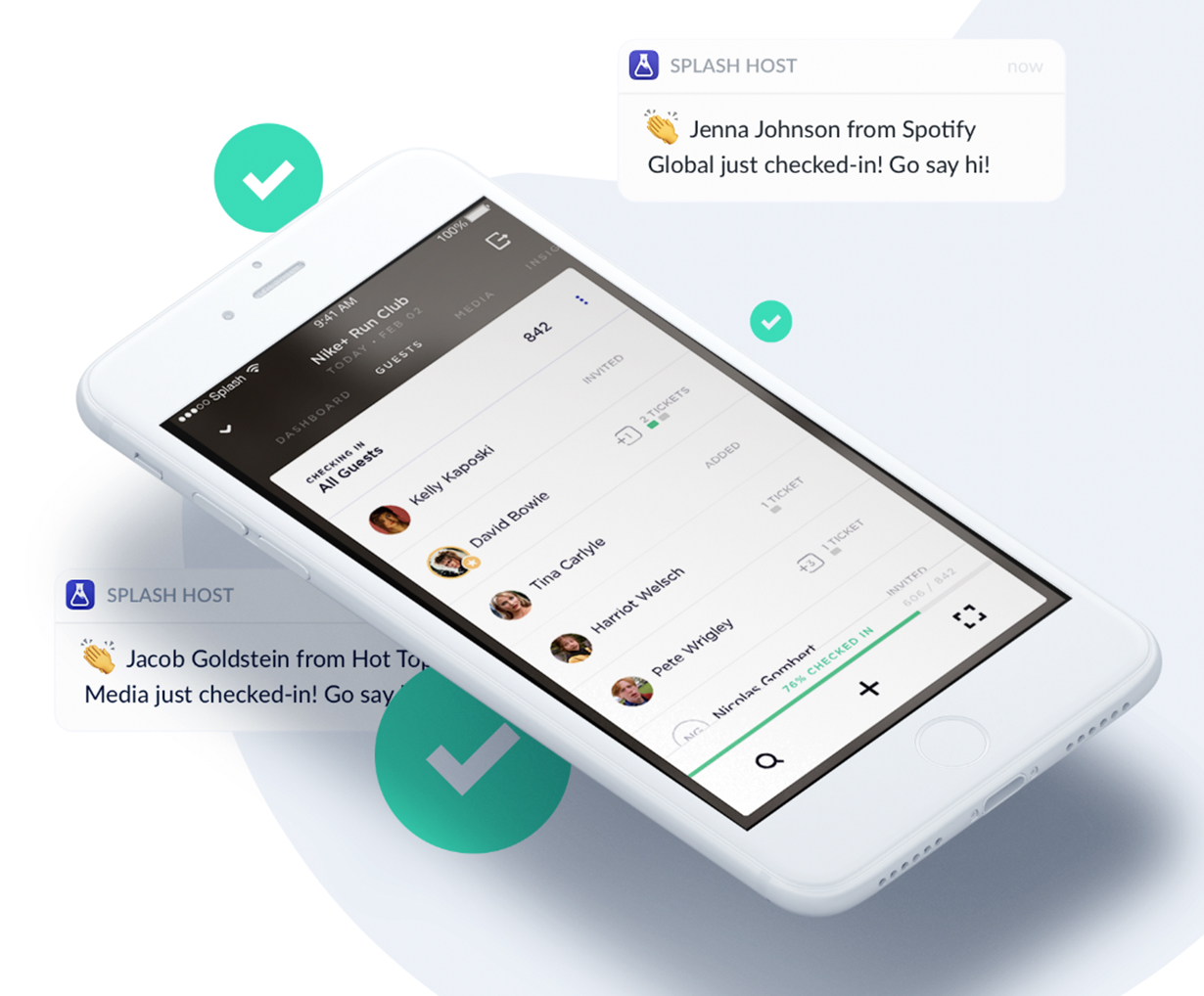 Splash Demo - The Splash Host app