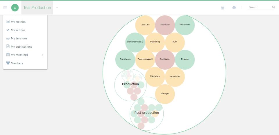 holaSpirit Demo - Role Visualization