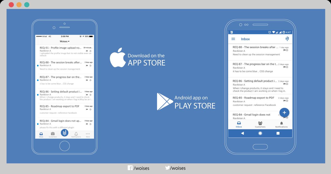 Woises Demo - Mobile App