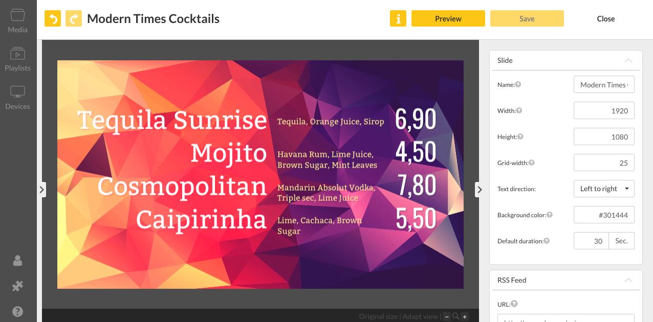viewneo Demo - viewneo Content Designer