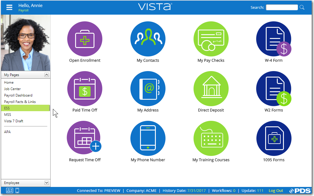 Vista Demo - Icon View
