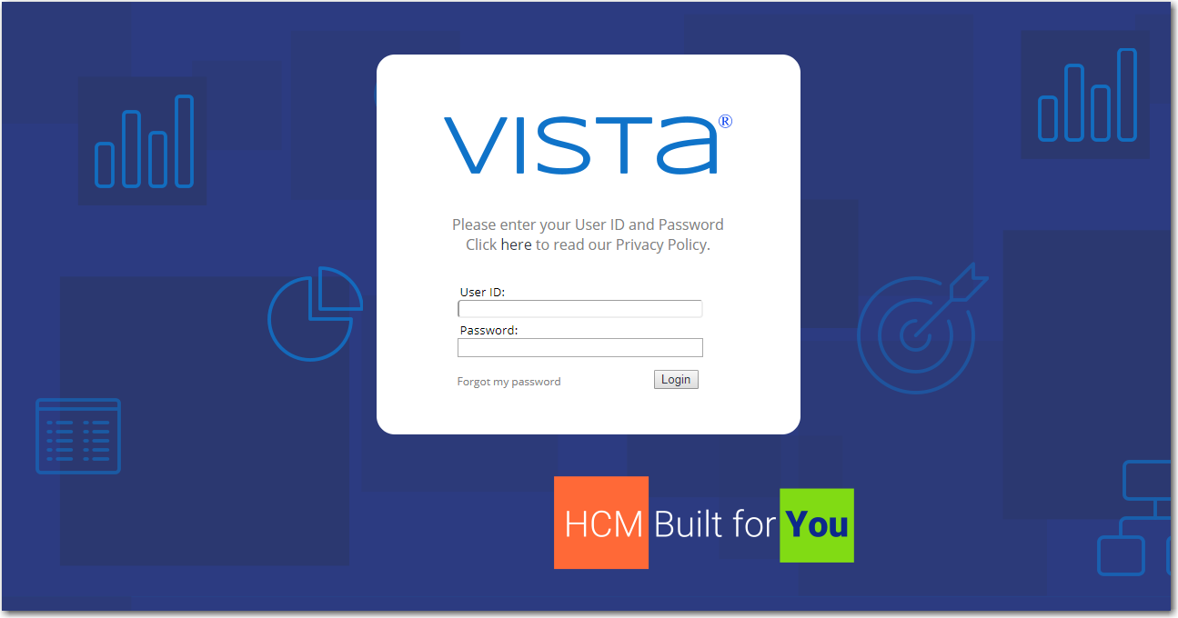 Vista Demo - Vista Login