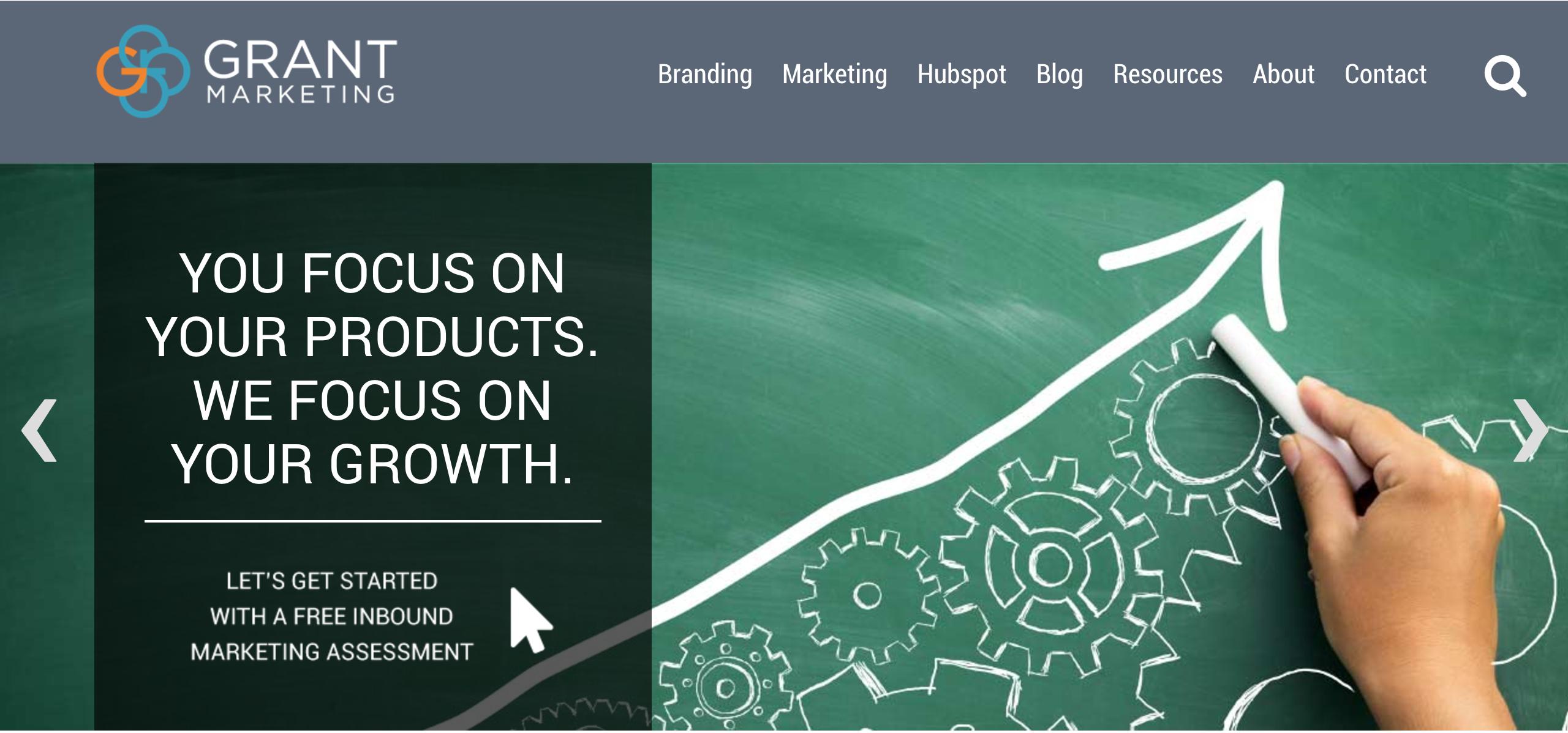 Grant Marketing Demo - Grant Marketing