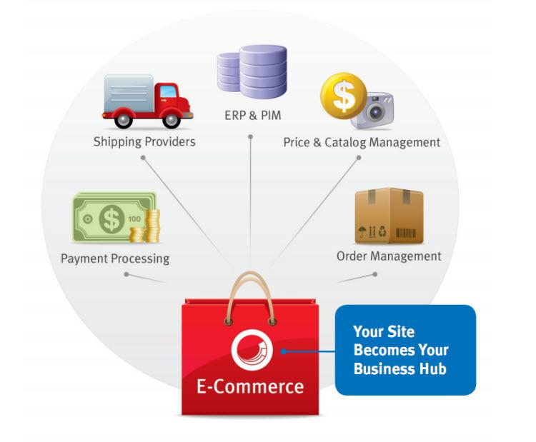 Ecommerce business hub