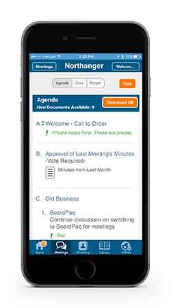 BoardPaq Demo - BoardPaq Phone App