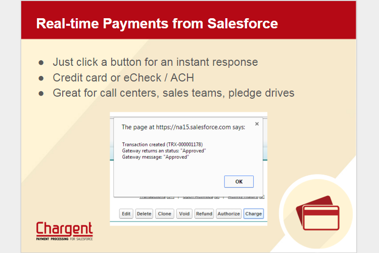 Chargent Demo - Real Time Payments from Salesforce