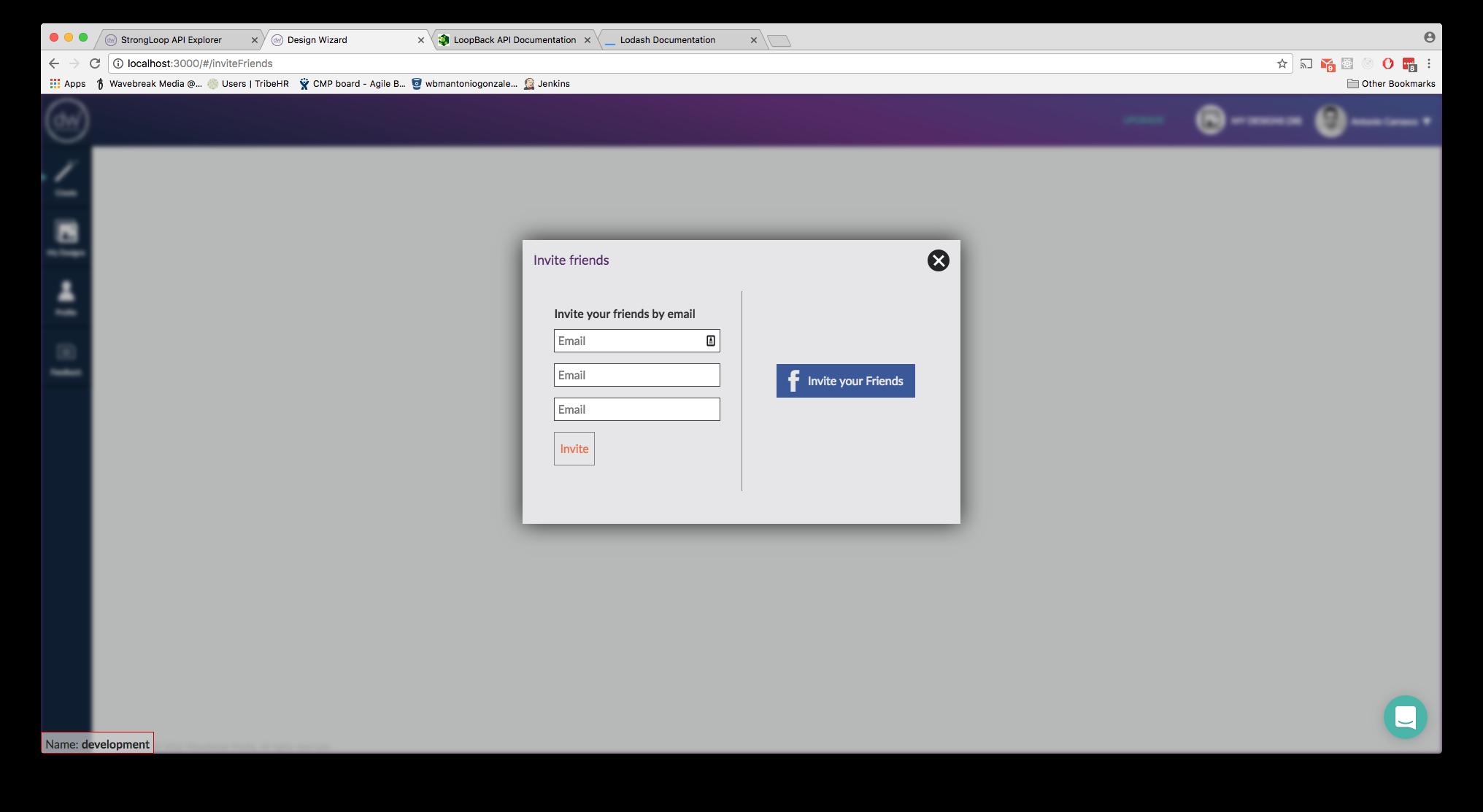 Design Wizard Demo - Share Design Wizard To Unlock Designs