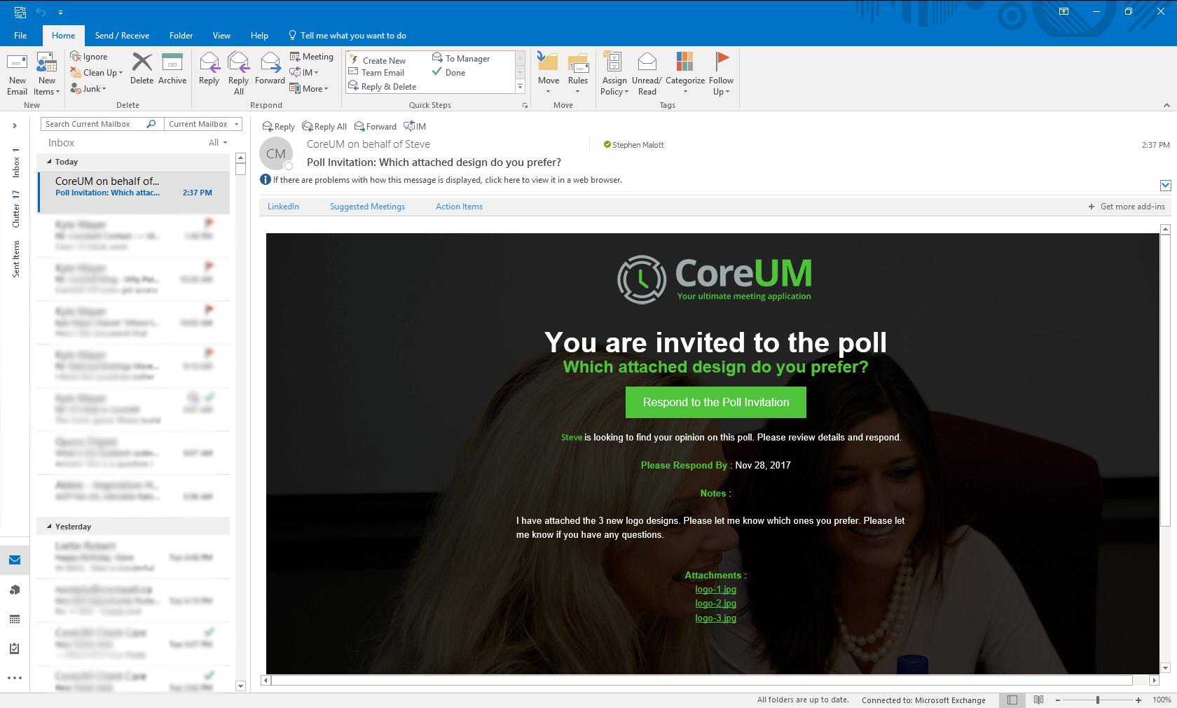 CoreUM Demo - CoreUM Custom Email