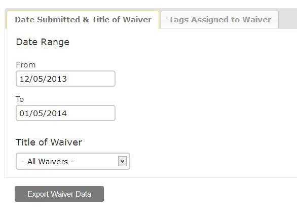 Smartwaiver Demo - Download the Data