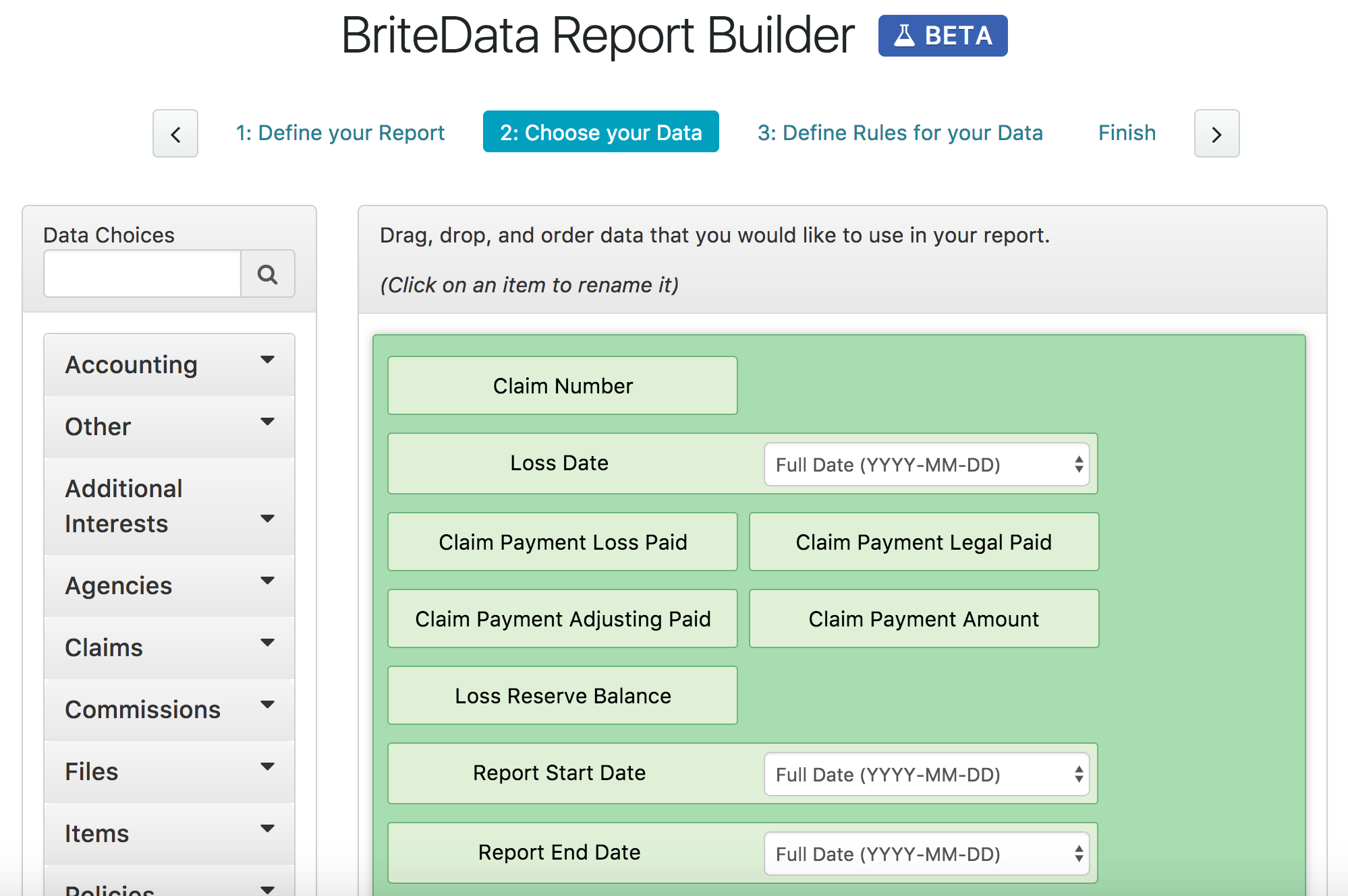 BriteCore Demo - Build Customized Reports With BriteData
