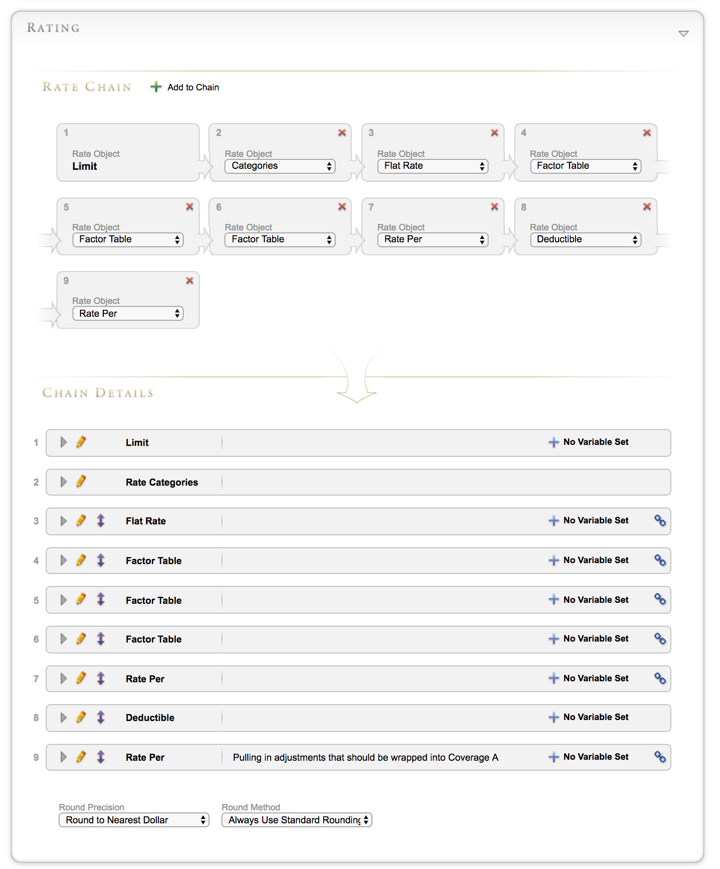 BriteCore Demo - Easily Configure Rating For Your Policies