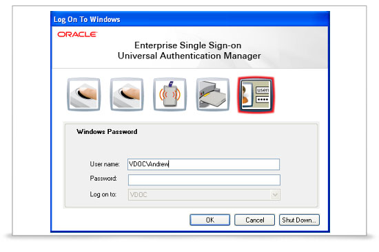 Oracle SSO Demo -