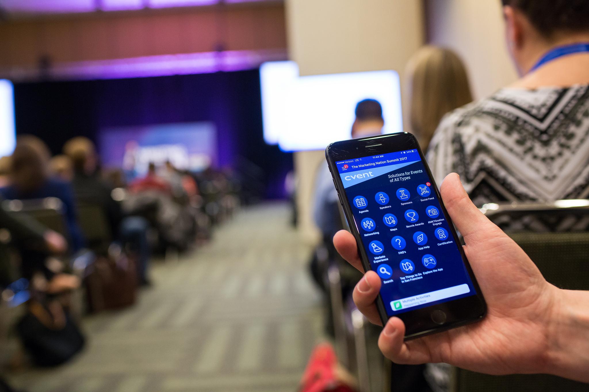Cvent Demo - Cvent Mobile App by Crowd Compass
