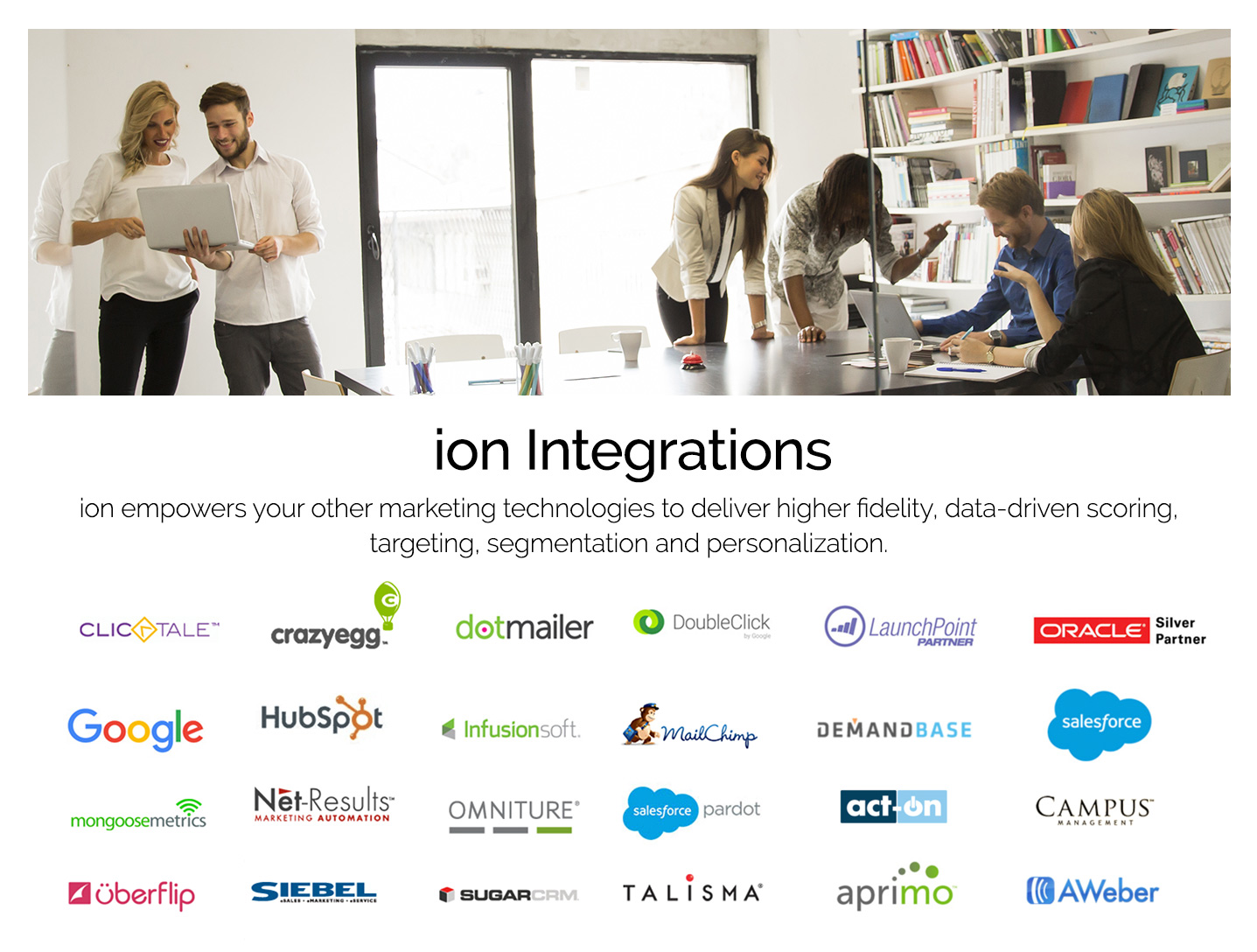 ion interactive Demo - We're Integrated Everywhere