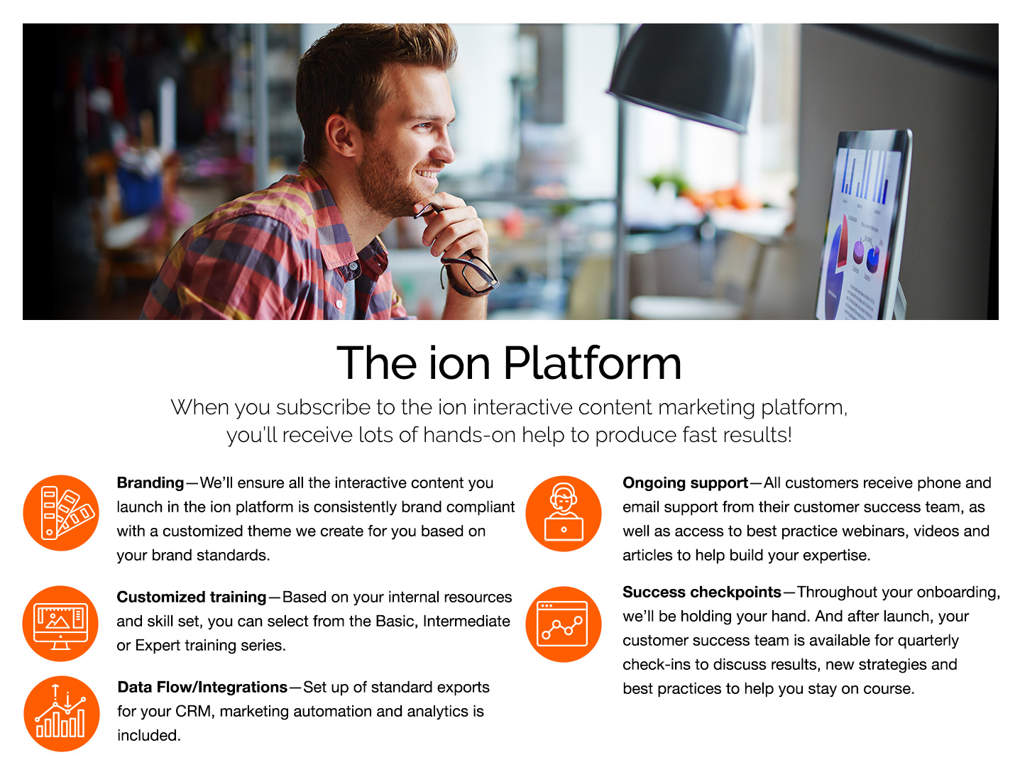 ion interactive Demo - The ion Platform