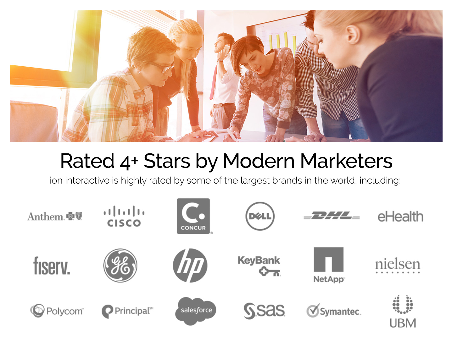 ion interactive Demo - Rated 4+ Stars by Modern Marketers