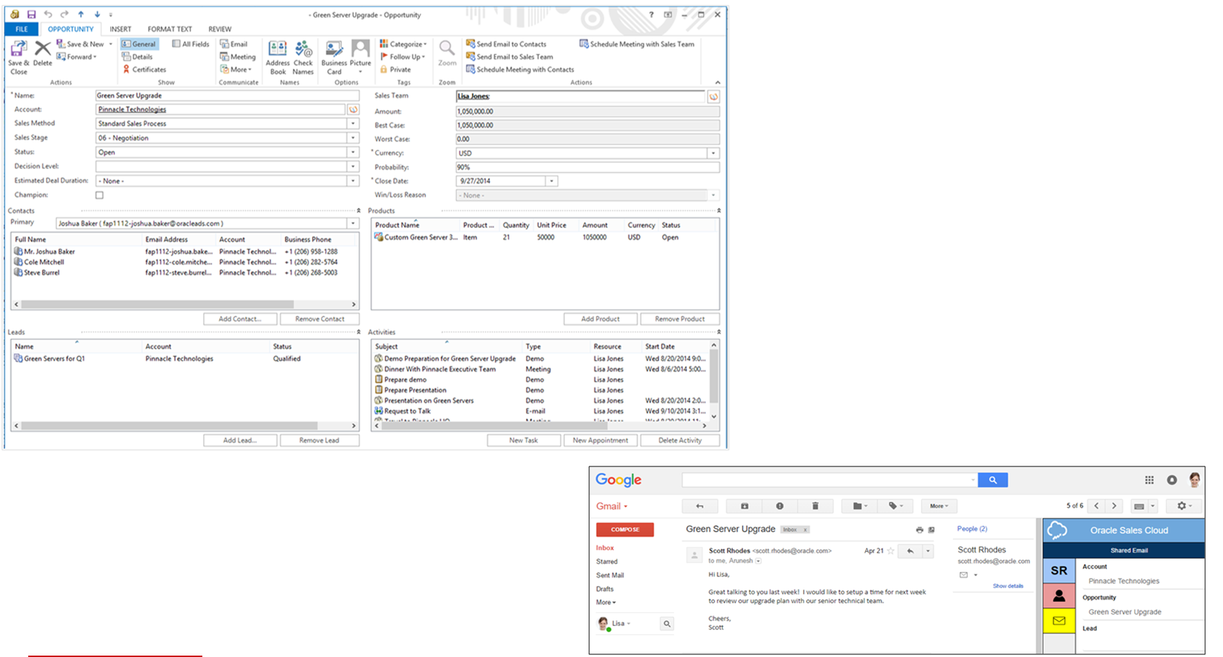 Oracle Sales Cloud Demo - EmailIntegrations.PNG