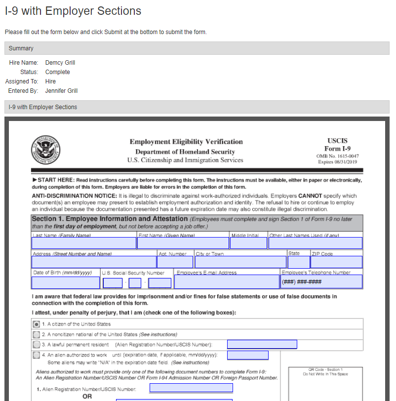 ApplicantStack Demo - Use our state and federal forms library or upload your own documents