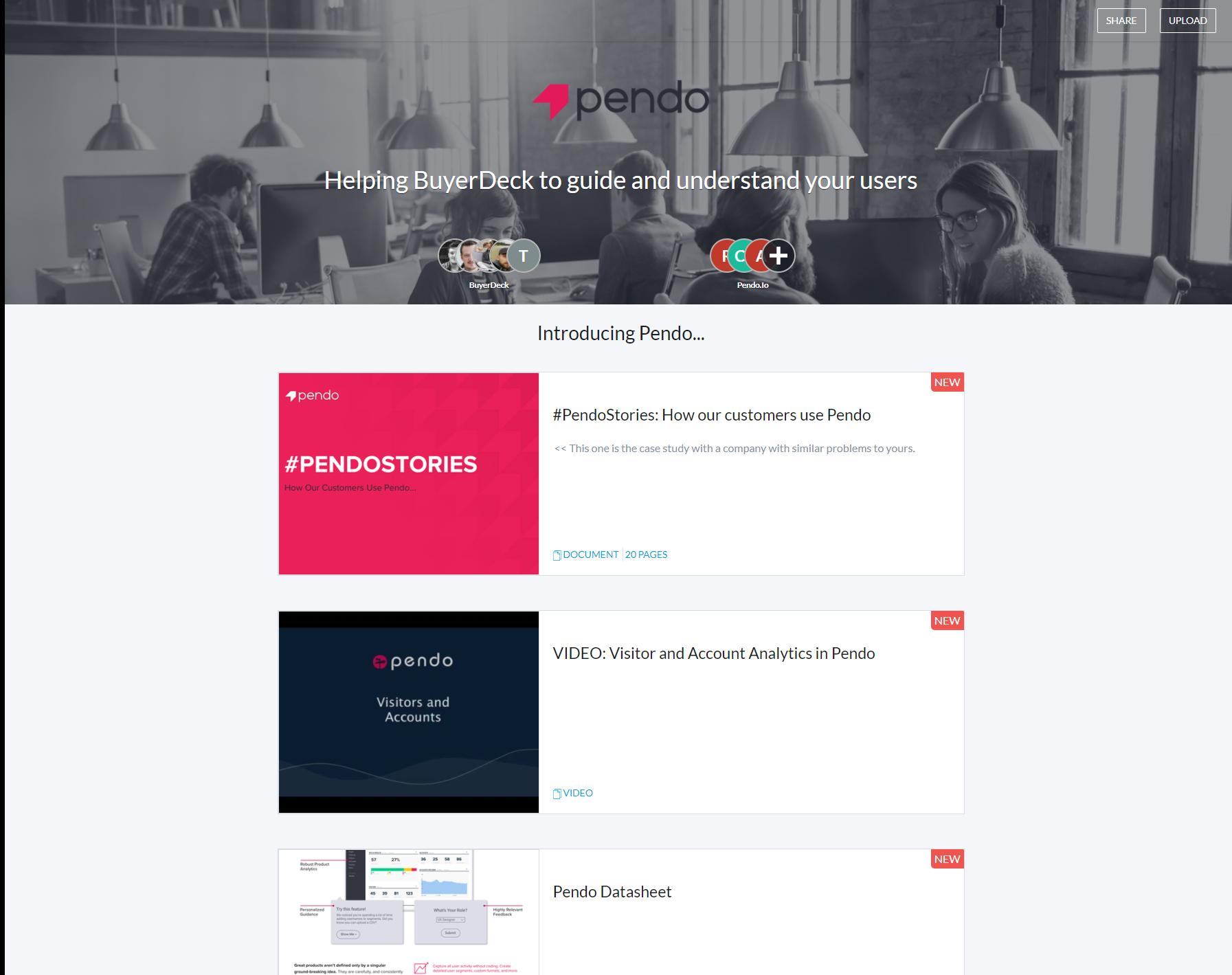 BuyerDeck Demo - Another example Portal...