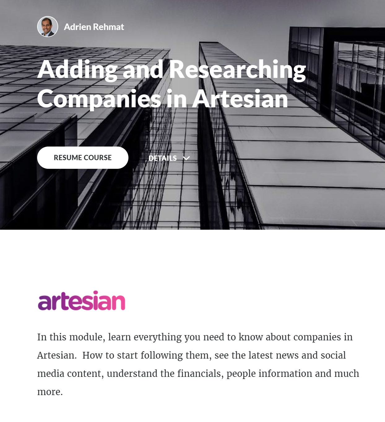 Artesian Demo - Foster best practice behaviour in the team