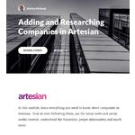 Artesian Demo - Foster best practice behaviour in the team