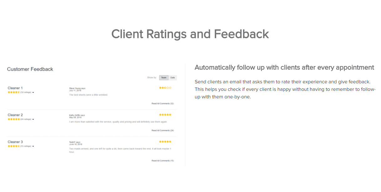 Launch27 Demo - Automatically follow up with clients after every appointment