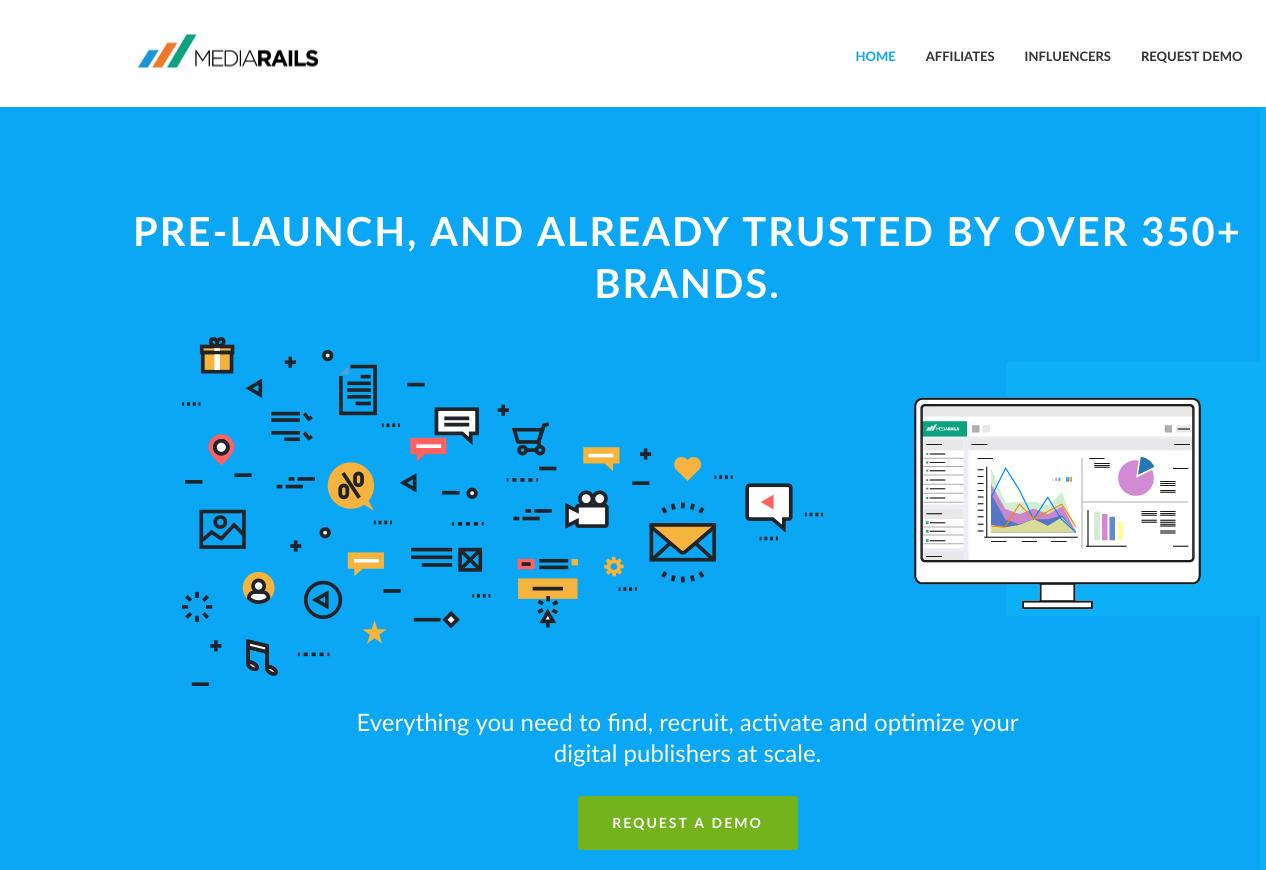Mediarails Demo - Website FrontPage