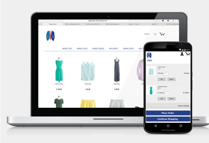 SalesVu Demo - Online Store