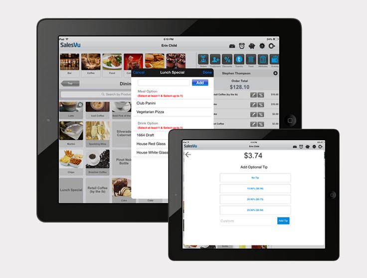 SalesVu Demo - Manage Your Restaurant
