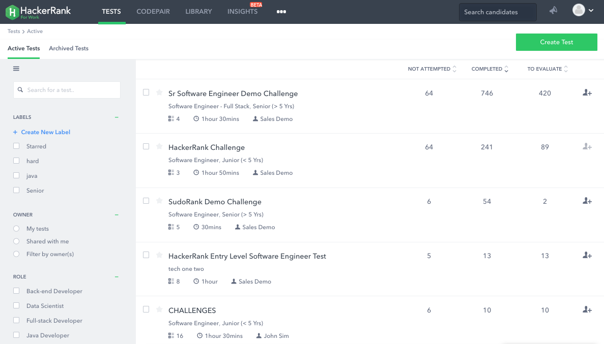 HackerRank Reviews 2019: Details, Pricing, & Features | G2