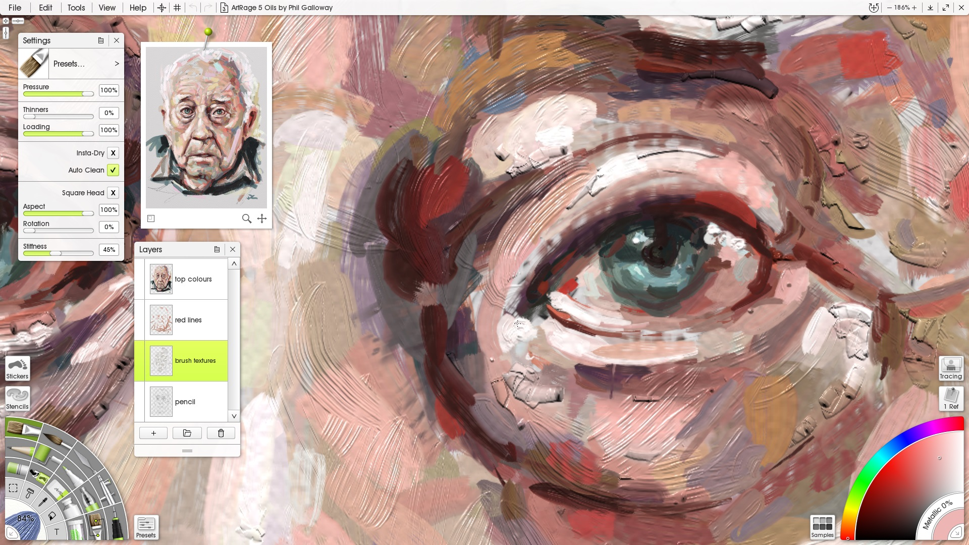 ArtRage Demo - Realistic Oil Painting