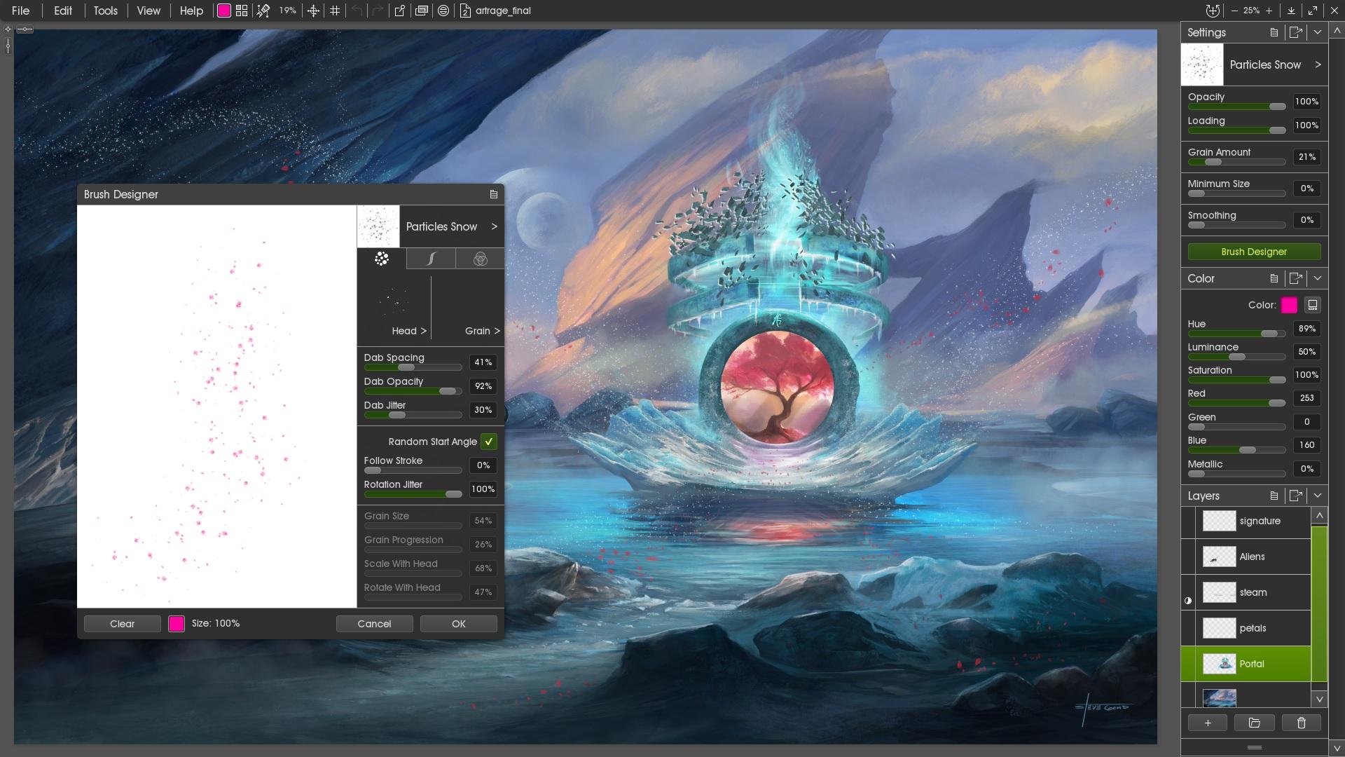 ArtRage Demo - Professional Digital Editing Features