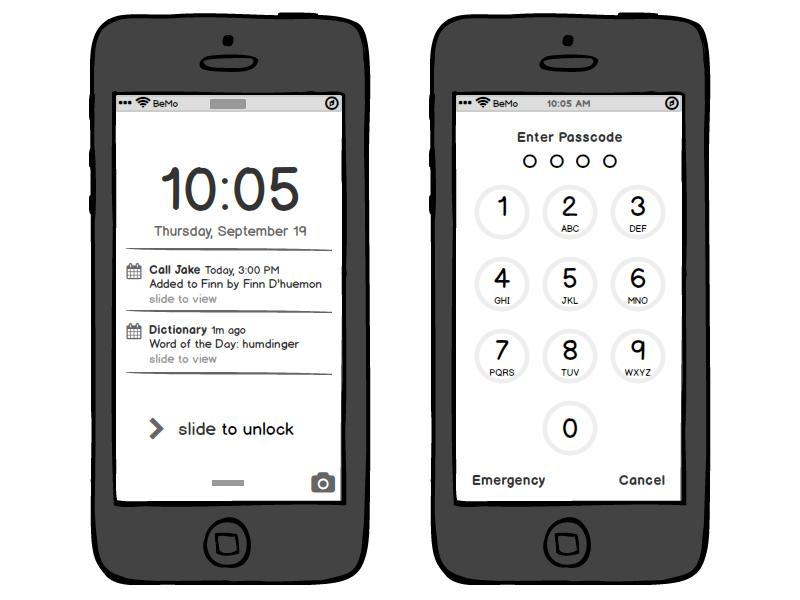 Balsamiq Demo - Mobile Apps