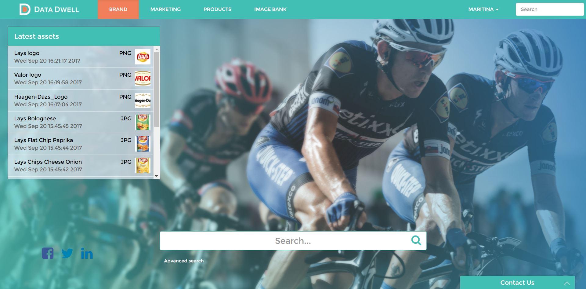MarkAccel (formerly Data Dwell) Demo - Company Login Portal