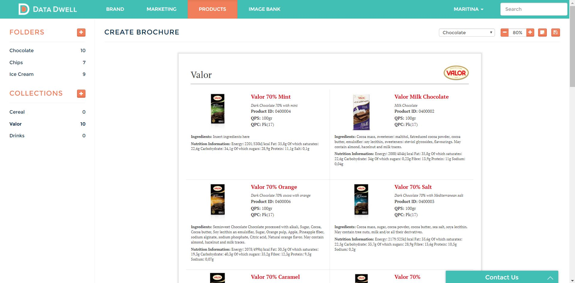 MarkAccel (formerly Data Dwell) Demo - Create Product Brochures on Demand