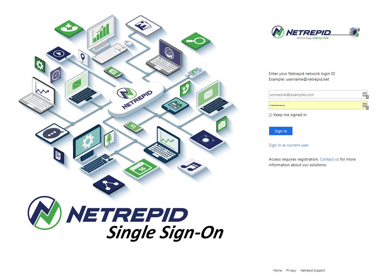 Netrepid Demo - Netrepid Single Sign-On
