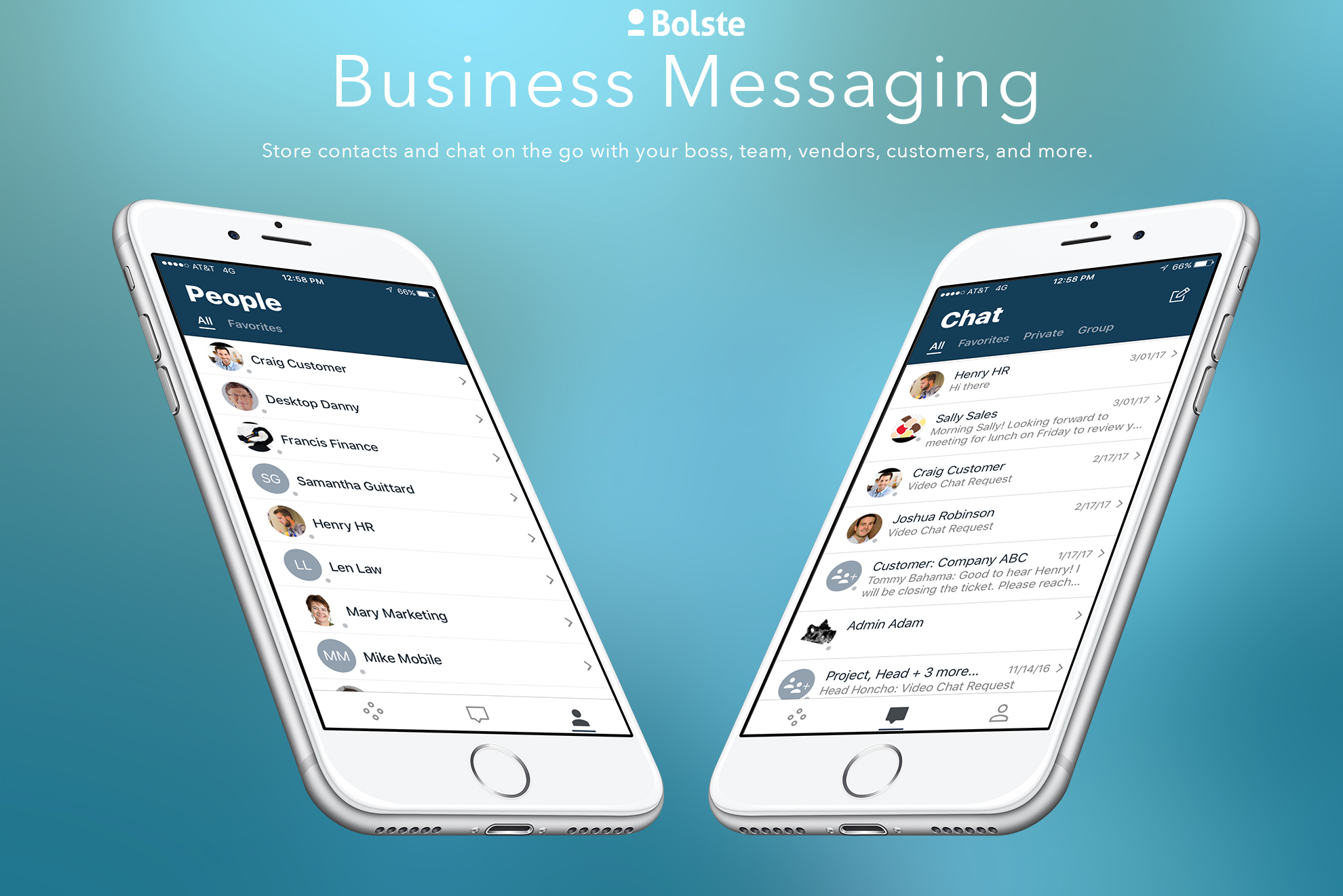 Bolste Demo - Business Messaging