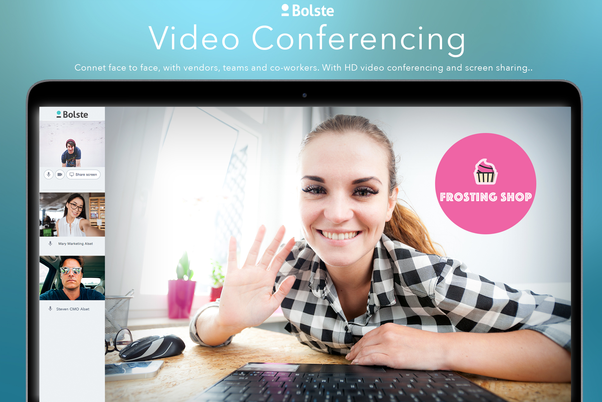 Bolste Demo - Video Conferencing