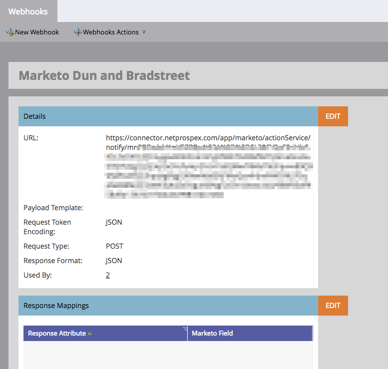 Bright Aspects Demo - Marketo web hooks