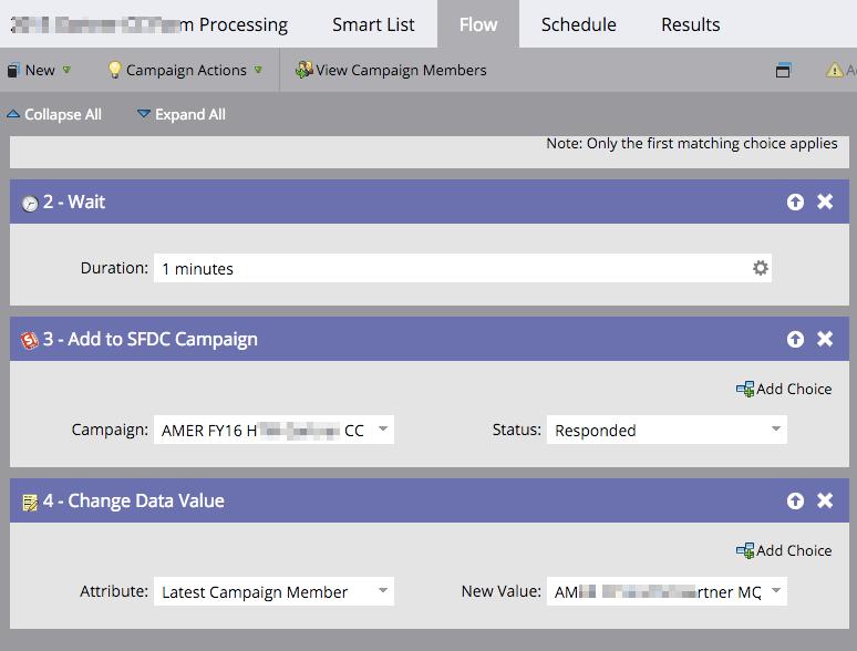 Bright Aspects Demo - Complex Marketo smart campaigns
