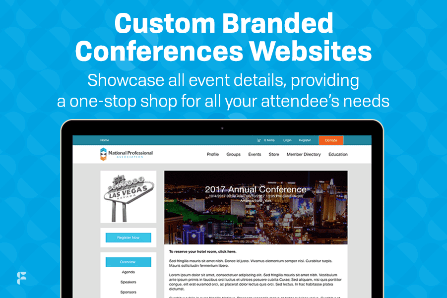 Fonteva Events Demo - Custom Branded Conference Websites