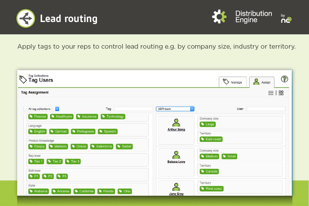 Distribution Engine Demo - Lead Routing