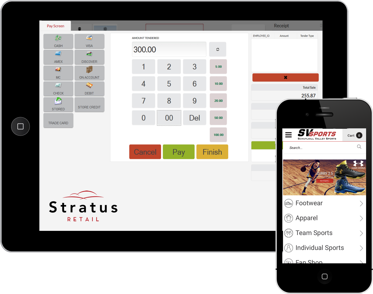 Stratus Retail Demo - Stratus Retail on Mobile Devices (Sporting Goods).png