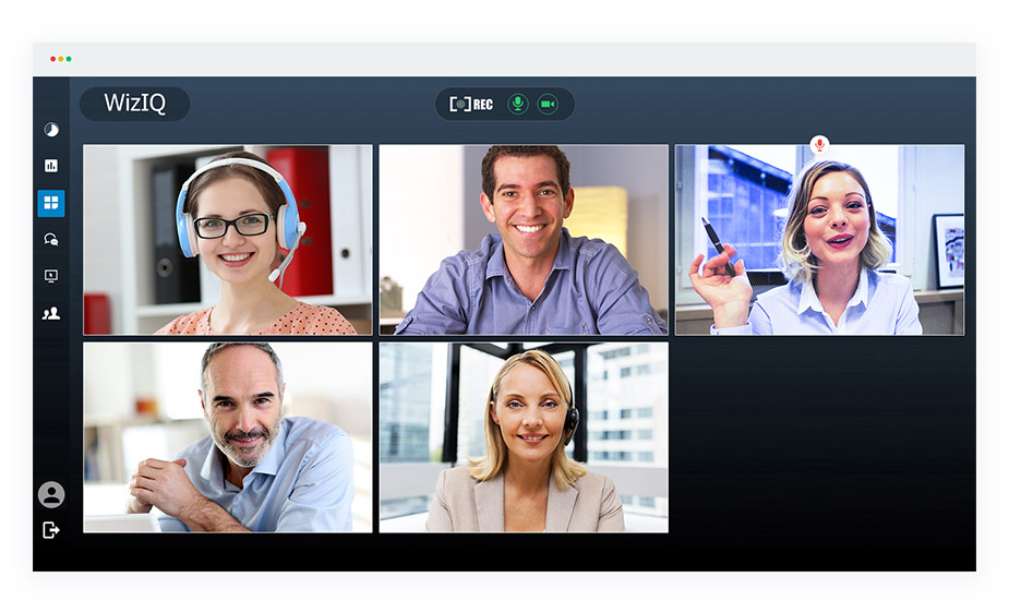WizIQ Demo - HD Video Conferencing