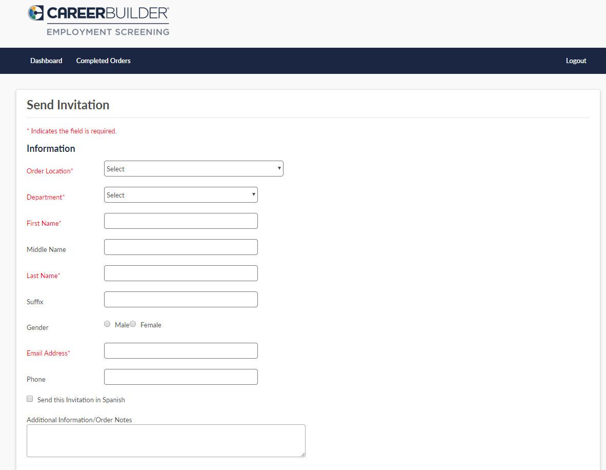 CareerBuilder Employment Screening Demo - Employment+Screening+Screenshot+3.png